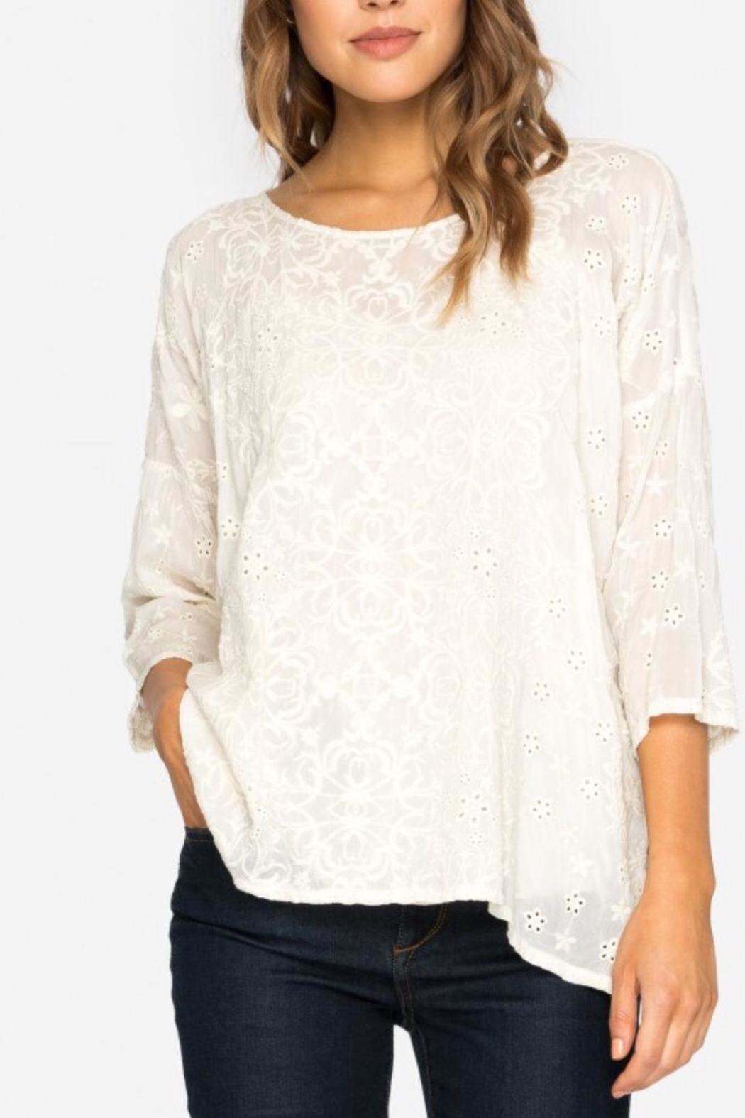 Johnny Was Jossy Embroiderd Blouse - Main Image