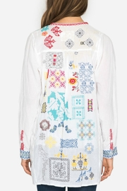 Johnny Was Juno Embroidered Tunic - Back cropped