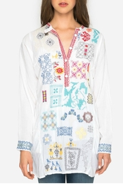 Johnny Was Juno Embroidered Tunic - Side cropped