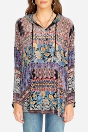 Johnny Was Karma Burnout Aztec Hoodie - Product Mini Image