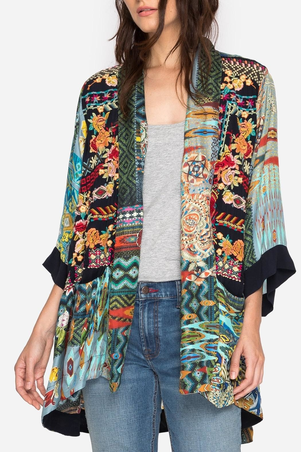 Johnny Was Koben Embroidered Kimono from Dallas by Hip ...