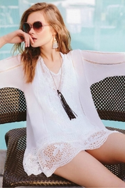 Johnny Was Lace Elle Tunic - Product Mini Image