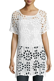 Johnny Was Lalla Tunic Top - Front cropped