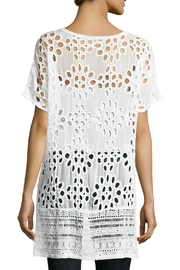 Johnny Was Lalla Tunic Top - Front full body