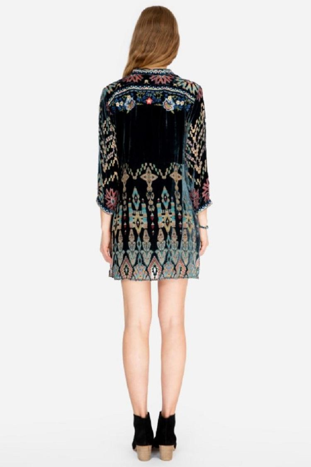 Johnny Was Laurelie Tunic Dress - Front Full Image