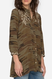 Johnny Was Lennon Camo Tunic - Product Mini Image
