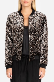 Johnny Was Leopard Bomber Jacket - Product Mini Image
