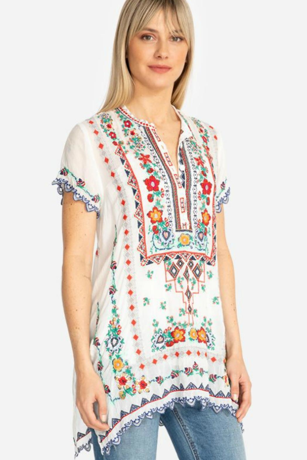 Johnny Was Liesse Tunic - Front Full Image