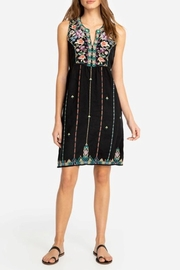 Johnny Was Linen Embroidered Dress - Product Mini Image