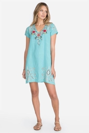 Johnny Was Linen Tunic Dress - Product Mini Image