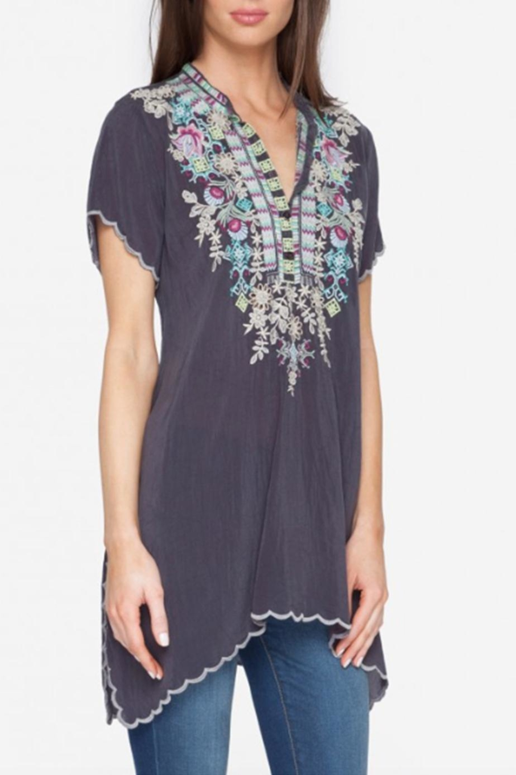 Johnny Was Livana Tunic Top - Front Full Image