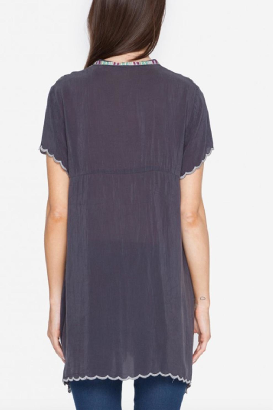 Johnny Was Livana Tunic Top - Back Cropped Image