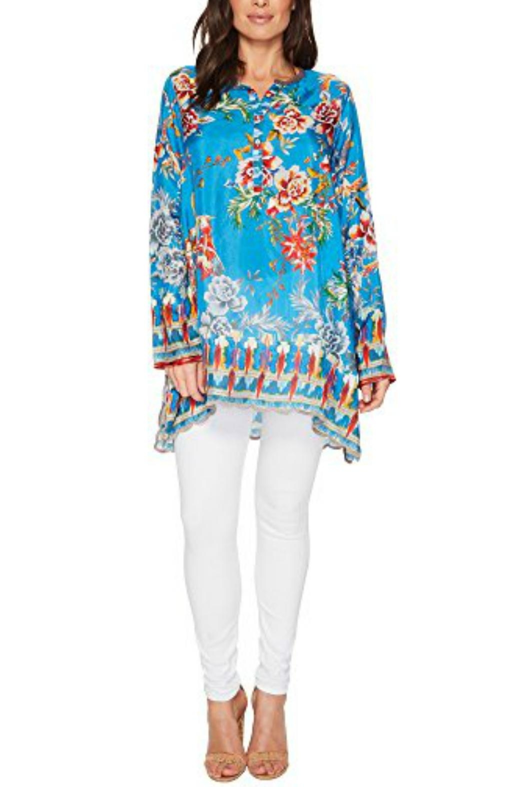Johnny Was Mala Tunic - Front Cropped Image