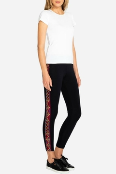 Shoptiques Product: Mayan Embroidered Legging