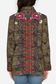 Johnny Was Military Camo Jacket - Side cropped