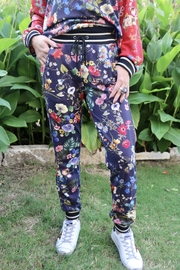 Johnny Was Multi Floral Print Jogger - Product Mini Image