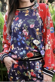 Johnny Was Multi Floral Print Pullover Top - Product Mini Image