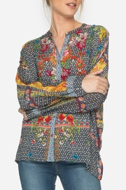 Johnny Was Multi Mishka Blouse - Product Mini Image
