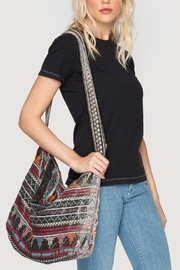 Johnny Was Nanette Velvet Tote - Front cropped
