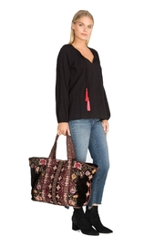 Johnny Was Nepal Hobo Tote - Front full body