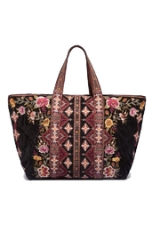 Johnny Was Nepal Hobo Tote - Front cropped