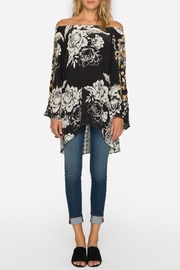 Johnny Was Off-The-Shoulder Embroidered Blouse - Front full body