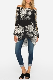 Johnny Was Off-The-Shoulder Embroidered Blouse - Front cropped