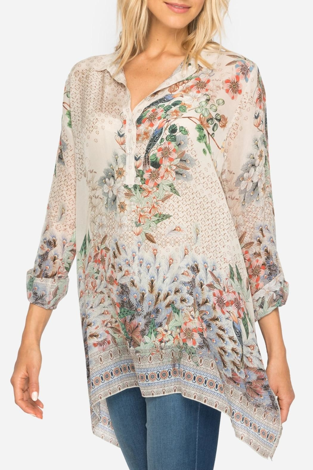 Johnny Was Pacheco Tunic Top - Main Image