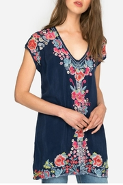 Johnny Was Pari Embroidered Tunic - Product Mini Image