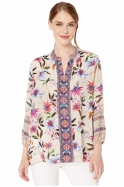 Johnny Was Paris Effortless Blouse - Front cropped