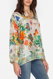 Johnny Was Passion Flower Top - Side cropped