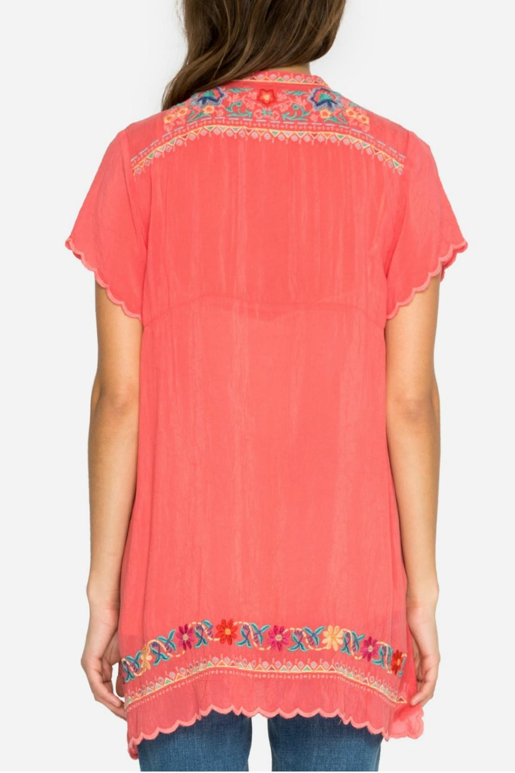 Johnny Was Passion Fruit Tunic - Side Cropped Image
