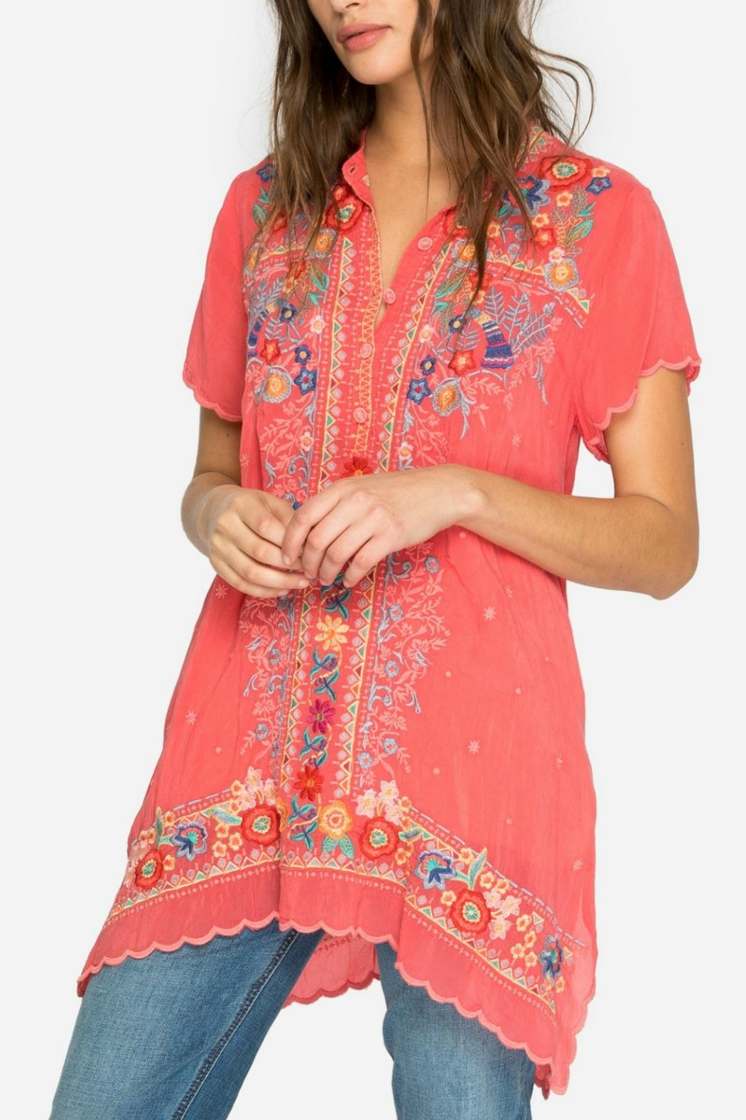 Johnny Was Passion Fruit Tunic - Main Image