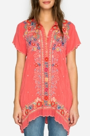 Johnny Was Passion Fruit Tunic - Front full body