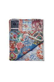 Johnny Was Patchwork Cozy Blanket - Product Mini Image