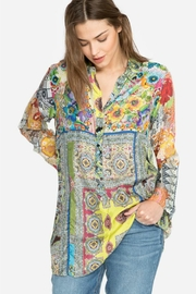 Johnny Was Patchwork Print Tunic - Product Mini Image