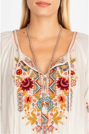 Johnny Was Peasant Blouse - Back cropped
