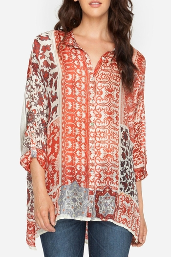 Johnny Was Prima Printed Blouse - Main Image