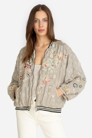 Johnny Was Reversible Nancy Bomber - Front cropped
