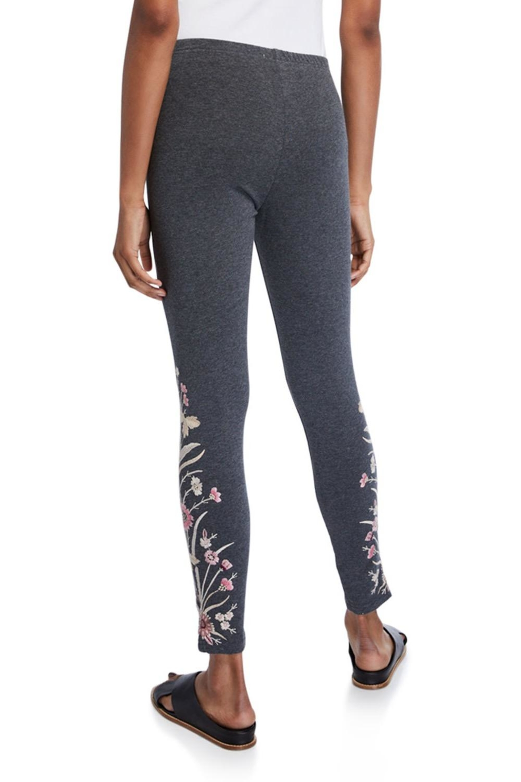 Johnny Was Rosa Embroidered Legging - Front Full Image