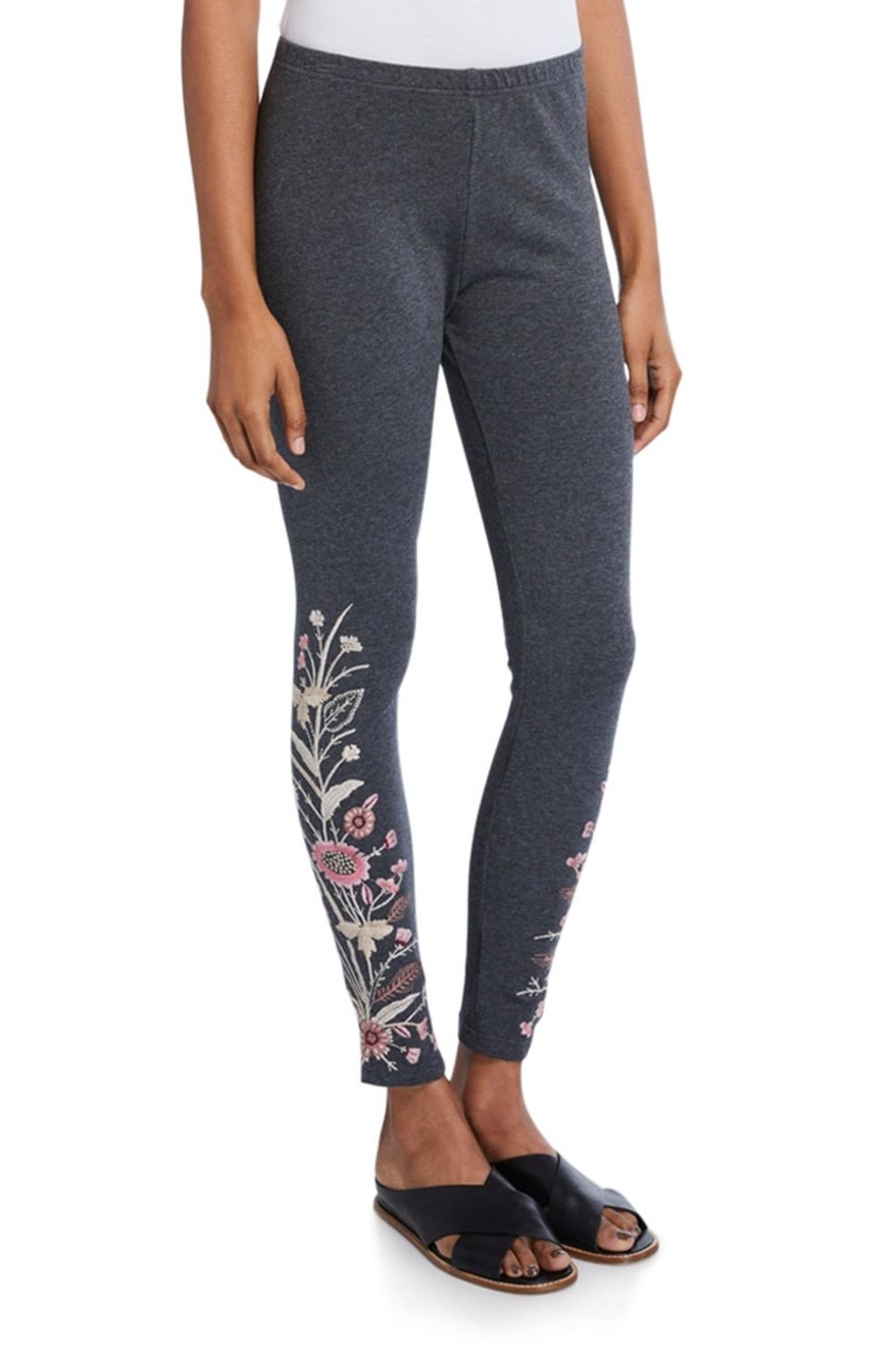 Johnny Was Rosa Embroidered Legging - Main Image