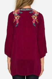 Johnny Was Rose Roma Tunic - Front full body