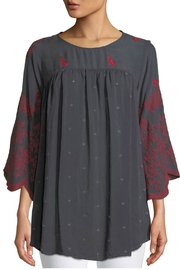 Johnny Was Rose Stitch Tunic - Product Mini Image