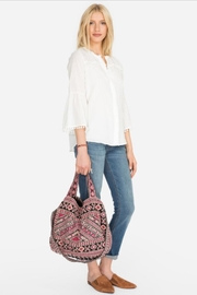 Johnny Was Sabriya Embroidered Tote - Front full body