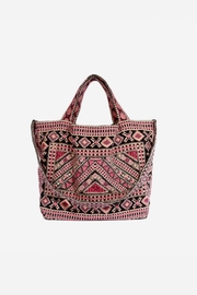 Johnny Was Sabriya Embroidered Tote - Front cropped