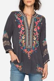 Johnny Was Sarabeth Embroidered Top - Product Mini Image