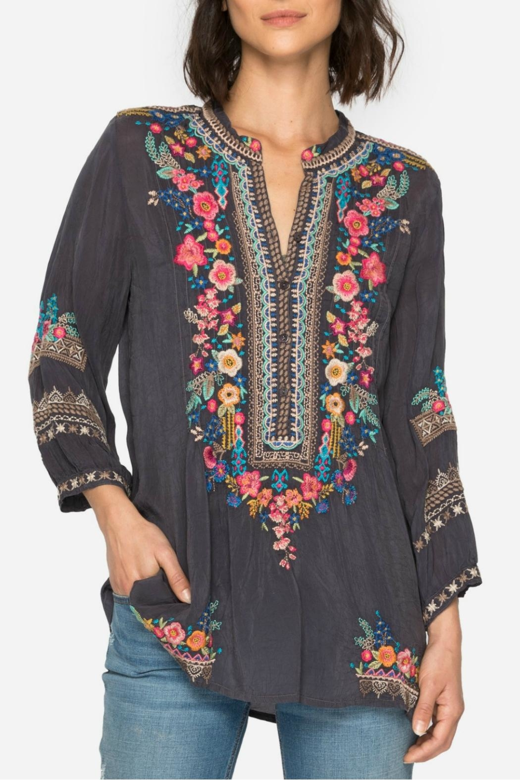 Johnny Was Sarabeth Tunic Top - Main Image