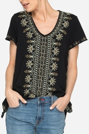 Johnny Was Sean Knit Top - Front cropped