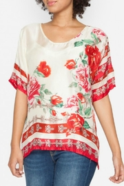 Johnny Was Secret Garden Top - Front cropped