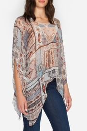 Johnny Was Sharkbite Gypsy Blouse - Front cropped